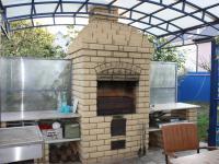 Мангал летняя печь на курорте