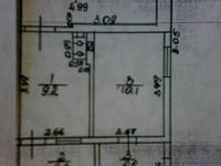 Анапа трехкомнатная планировка Астраханская 58