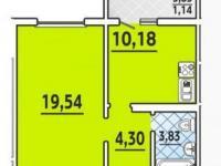Однокомнатная квартира с ремонтом в Анапе | Витязево ЖК Турист